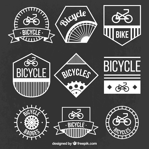 Bicycle logos