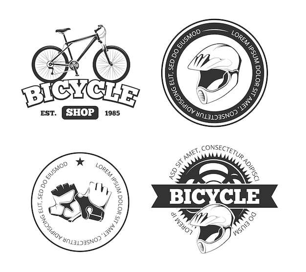 Bicycle Premium Vector