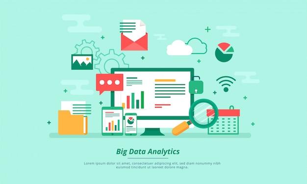 big data machine alogorithms analytics concept saftey and security
