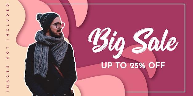 Big sale background design Premium Vector