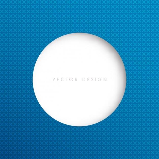 Big white circle background Ve...