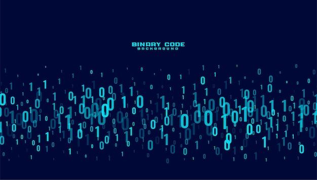 バイナリコードデジタルデータ番号の背景 無料ベクター