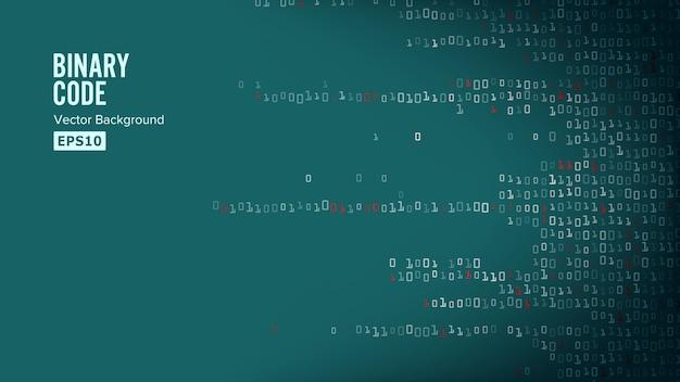 Binary code Premium Vector