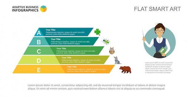 biology concept slide template vector free download