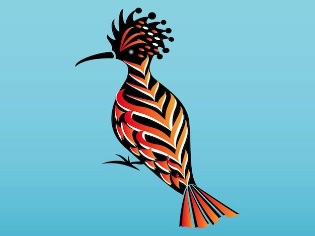 Bird Hoopoe