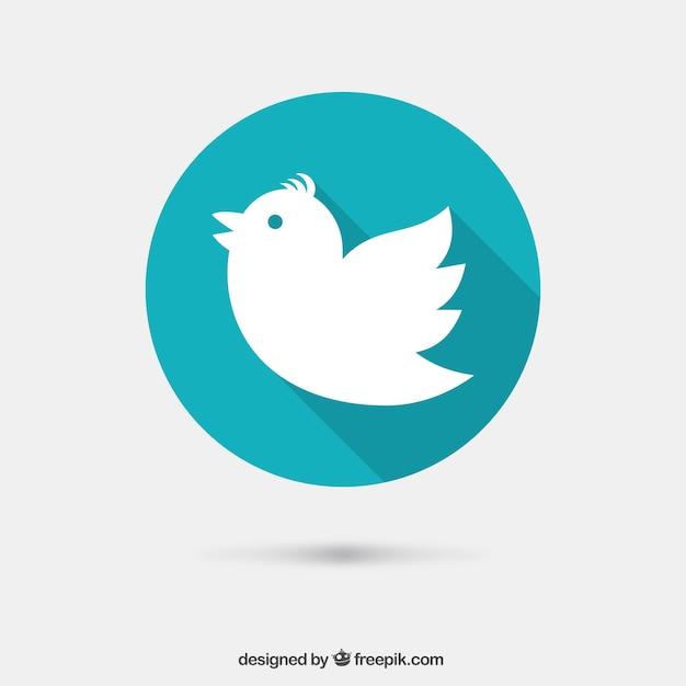 Bird icon Free Vector