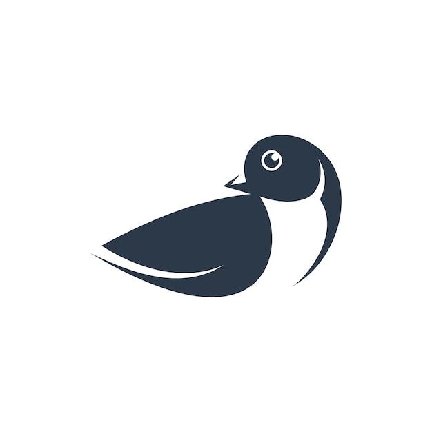 Bird logo design Premium Vector