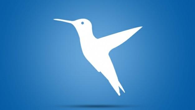 Bird logo twitter template Free Vector