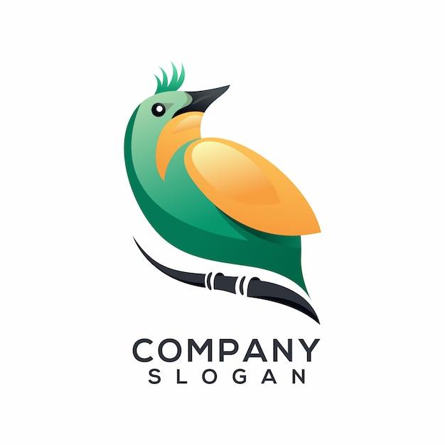 Bird logo vector Premium Vector