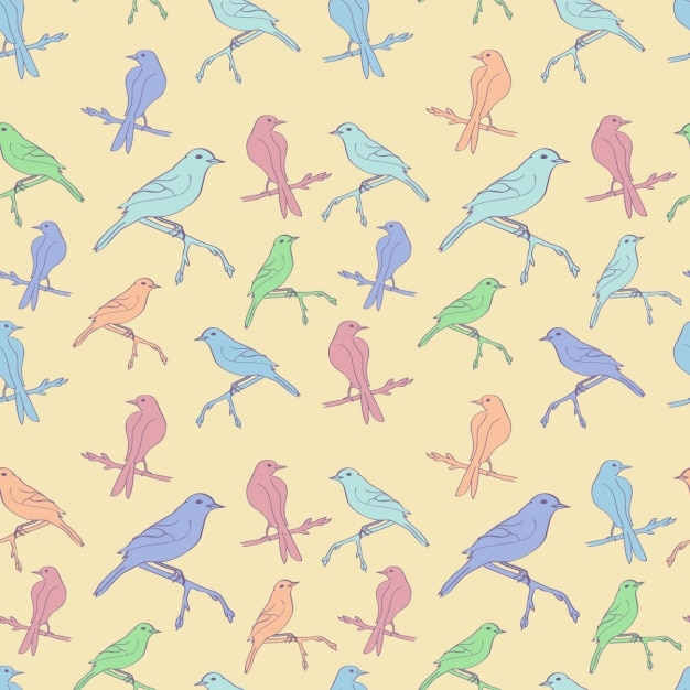 Birds pattern design