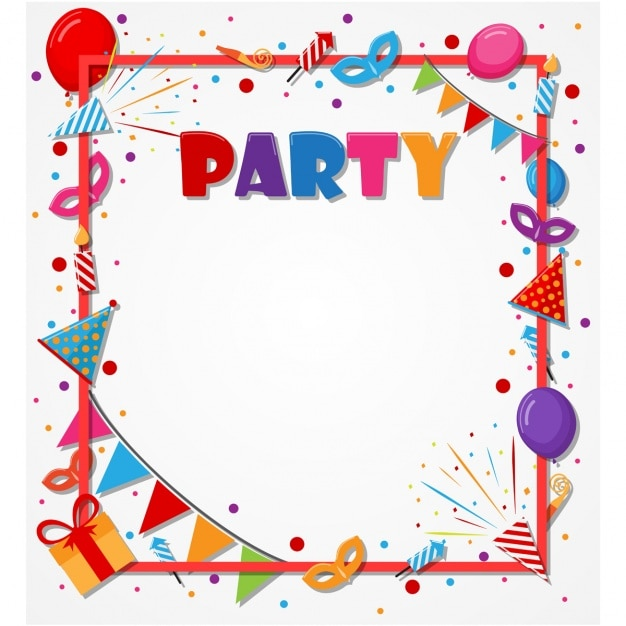 Birthday Party Design Background ~ Image Inspiration of ...