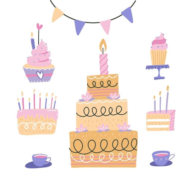 my little pony cake decorating ideas.htm birthday cakes set cherry  strawberry cakes  cupcake  topper  birthday cakes set cherry  strawberry