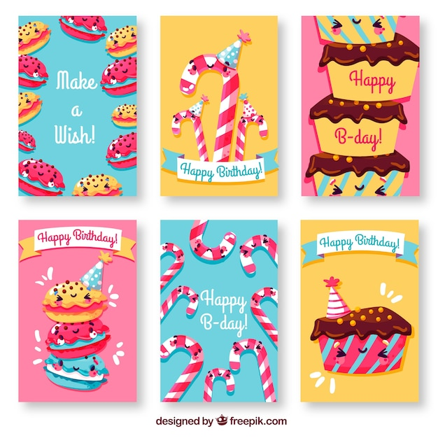 Birthday Cards With Cakes