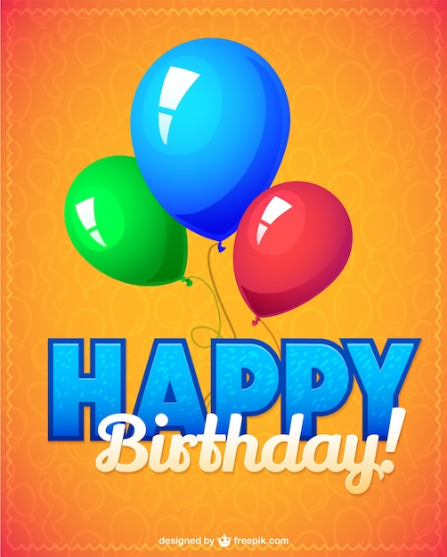 Birthday party vector illustration Vector  Free Download