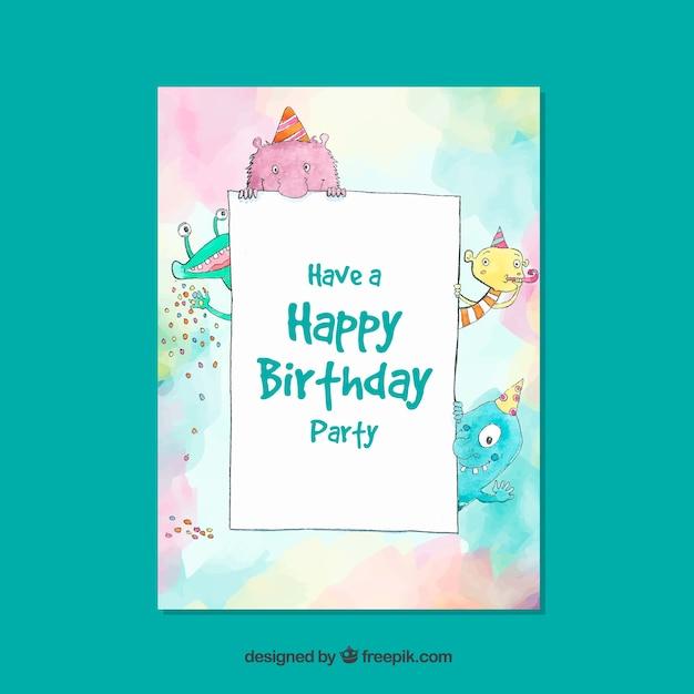 Birthday Free Vector