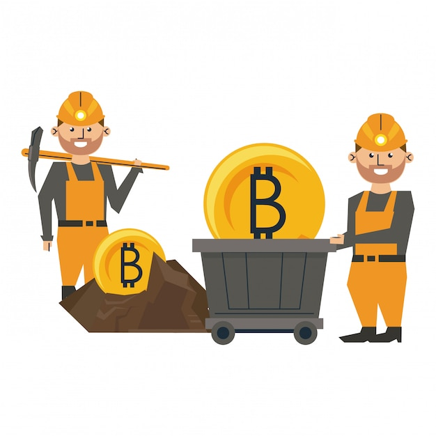 bitcoin mining workers