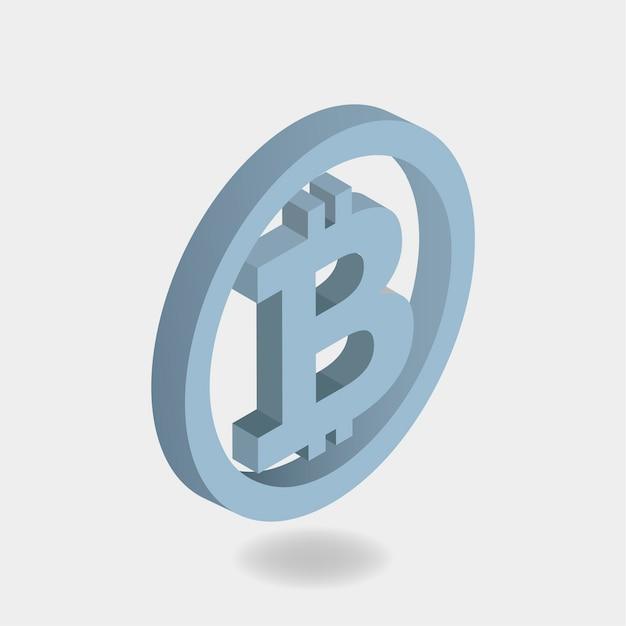 Биткойн-знак Бесплатные векторы