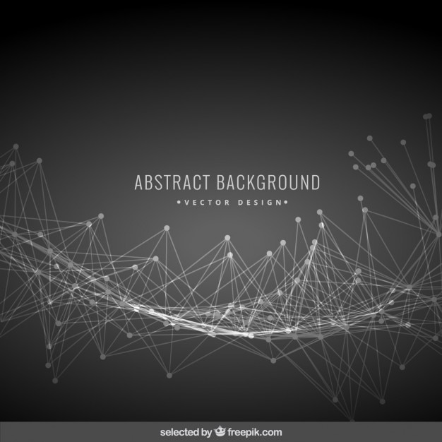 Black abstract background with mesh Vector | Free Download