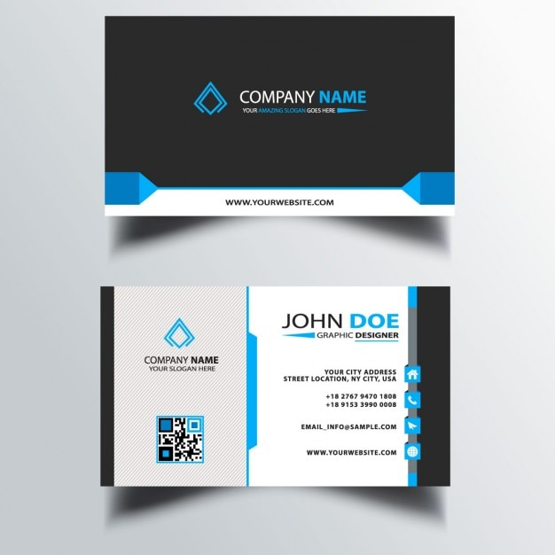 Blue Corporate Stationary Pack By Betty Design: Card Vectors, Photos And PSD Files