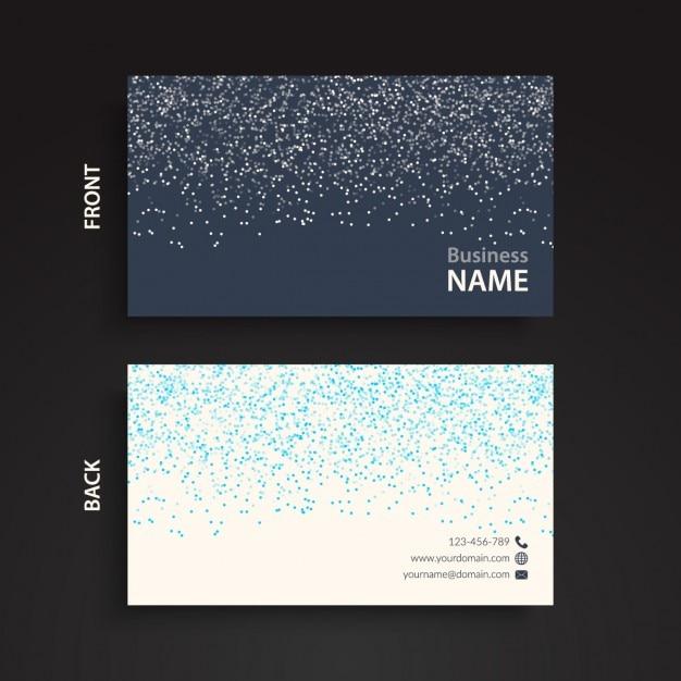 Black and blue glitter business card vector free download black and blue glitter business card free vector colourmoves