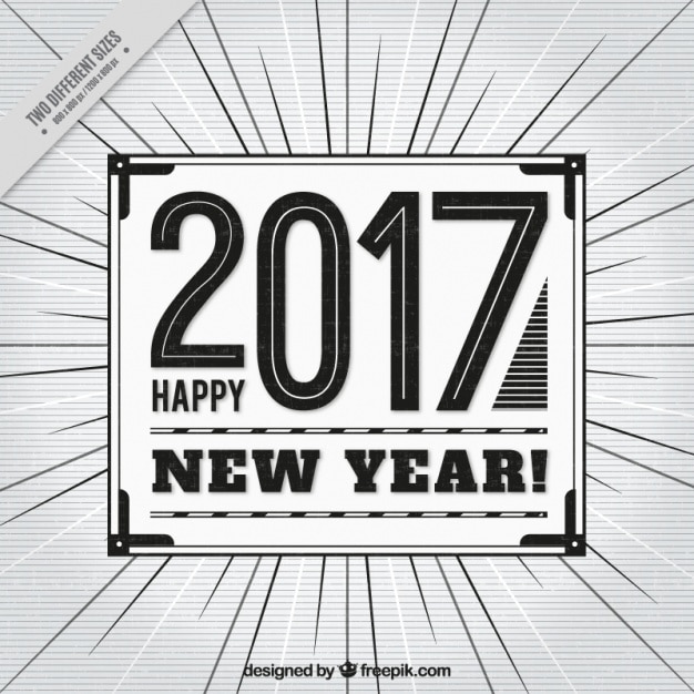 Black and white background with lines for new year | Stock Images ...