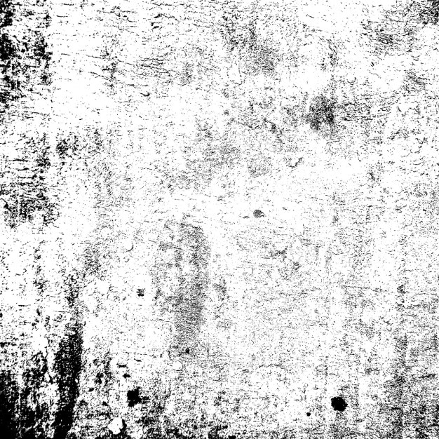 Black and white grunge texture Free Vector