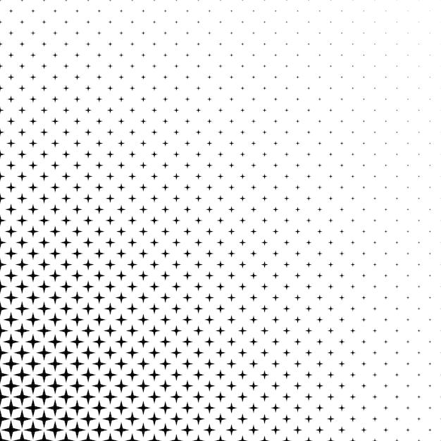 Черно-белая звезда Бесплатные векторы
