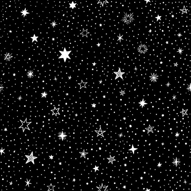 black background with stars vector free download