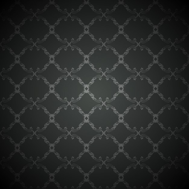 Black background with vintage pattern Vector | Free Download