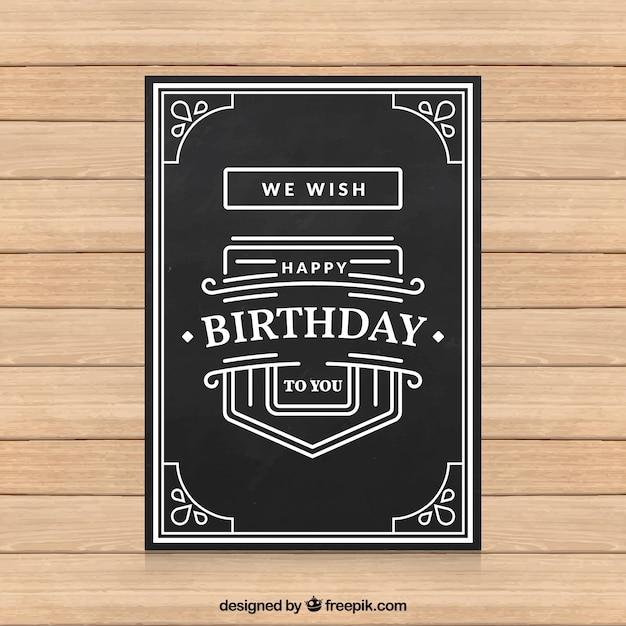 black birthday card gotta yotti co