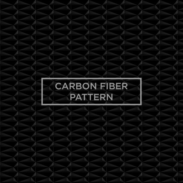 Black carbon fiber pattern Free Vector