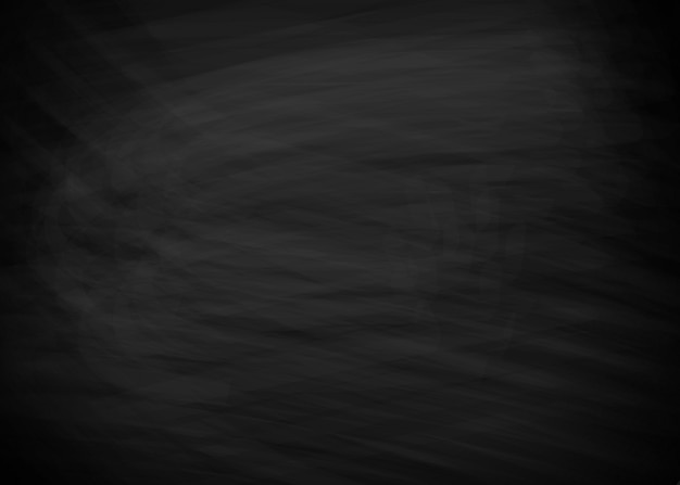 Black chalkboard background Premium Vector