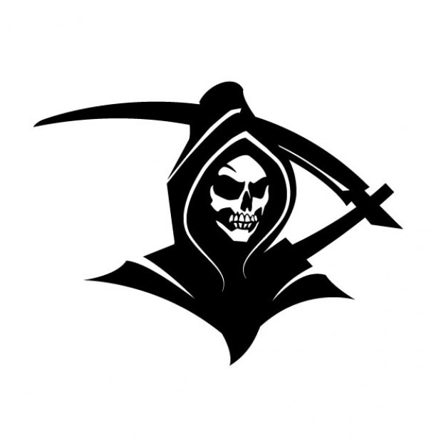 black death grim reaper clip art vector free download