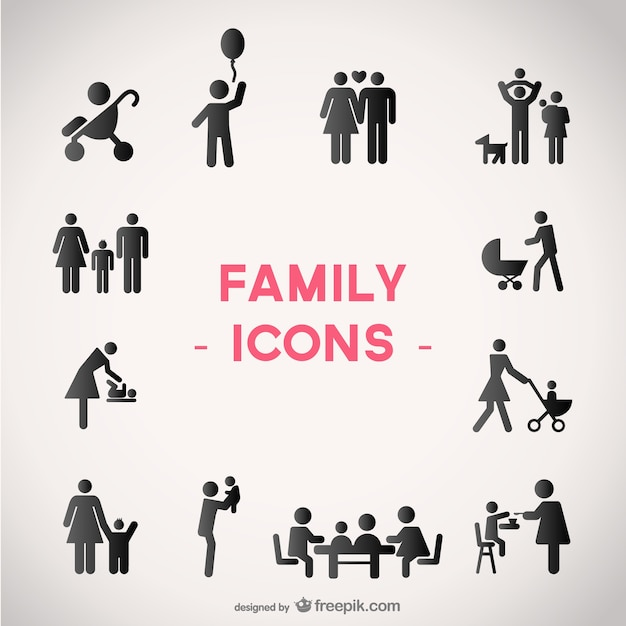 Pictogram vectors photos and psd files free download - Family days enero 2017 ...
