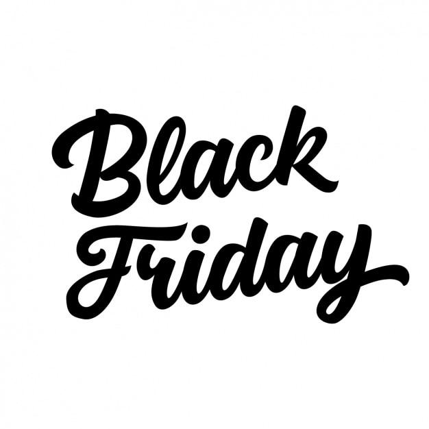 Black friday background design Free Vector