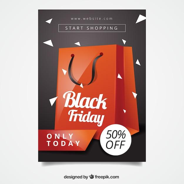 black friday flyer template vector free download. Black Bedroom Furniture Sets. Home Design Ideas