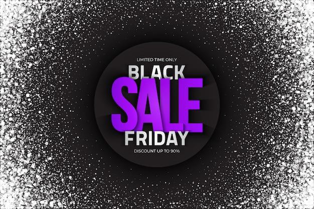 Черная пятница продажа абстрактный фон Premium векторы