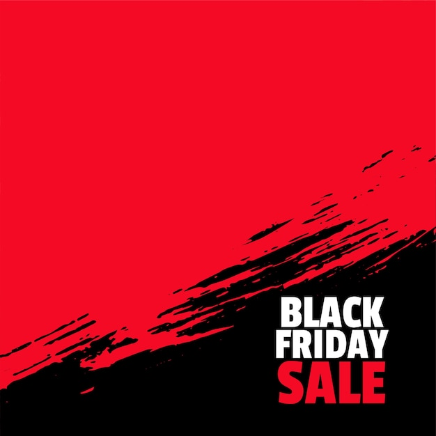 Black friday sale background with text space Free Vector