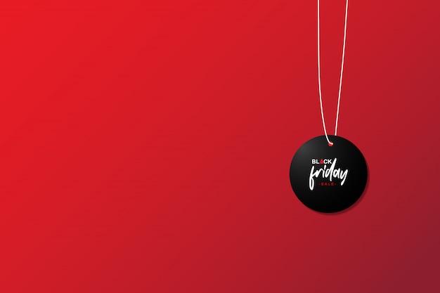 Black friday sale badge Premium Vector