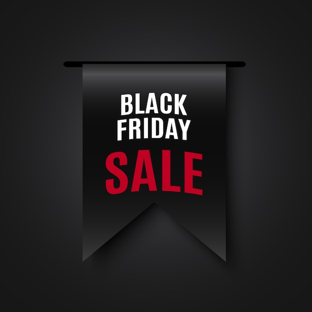 Черная пятница продажа баннер. , Premium векторы