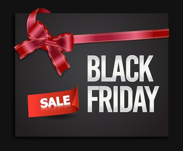 Черная пятница продажа баннер. Premium векторы