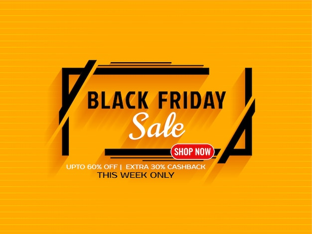 Black friday sale eals and offers background Free Vector