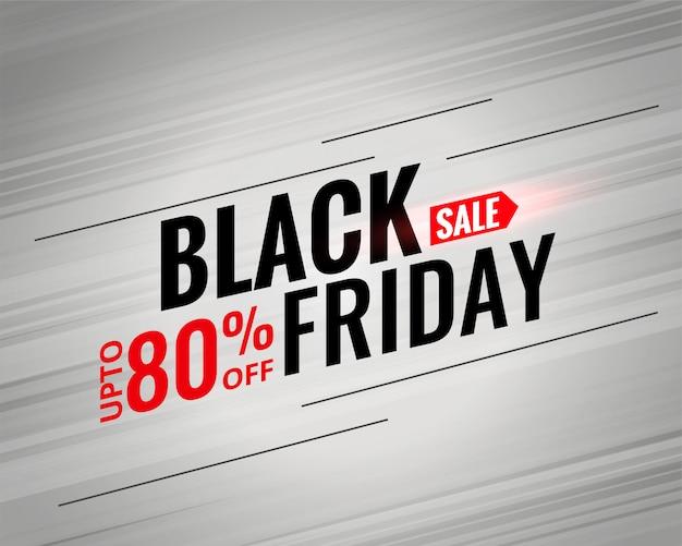 Black friday sale poster design Free Vector
