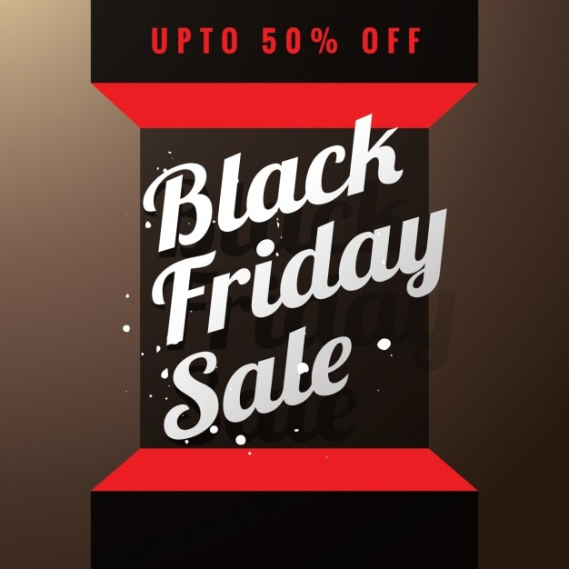 Black friday sale poster in 3d Vector | Free Download