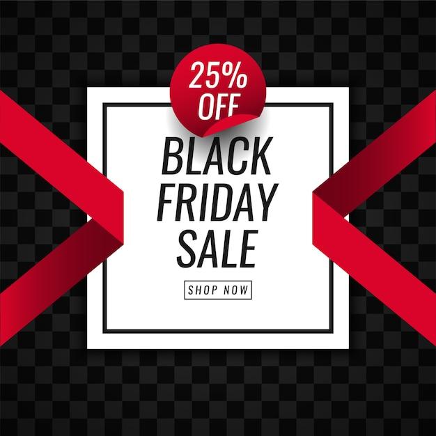 Черная пятница распродажа продвигает дизайн шаблона иллюстрации Premium векторы
