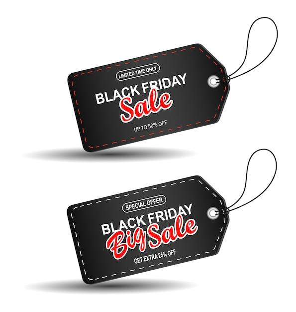 Black friday sale. Premium Vector
