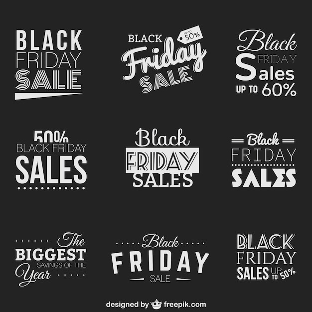 black friday sales badges vector free download. Black Bedroom Furniture Sets. Home Design Ideas