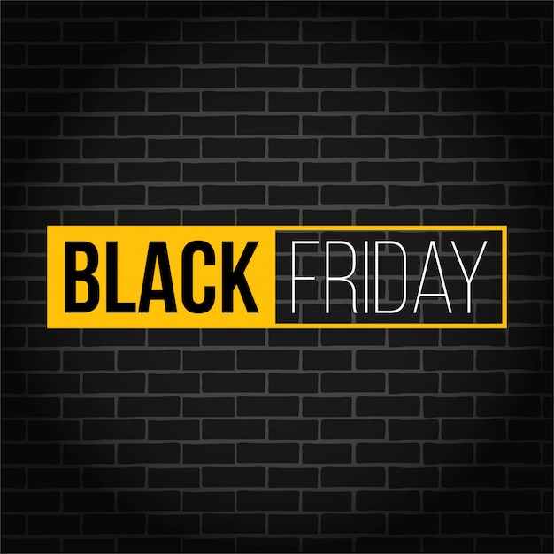 Black friday special offer square sale banner. Premium Vector