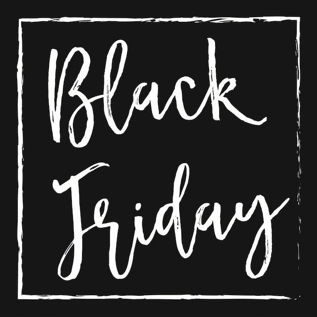 Black friday Premium Vector