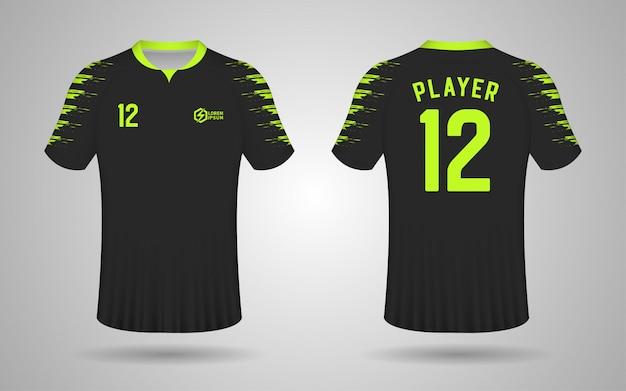 black football jersey designs